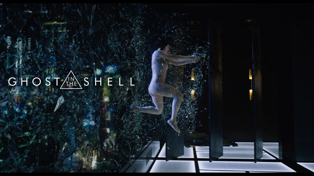 Ghost in the Shell - cartaz